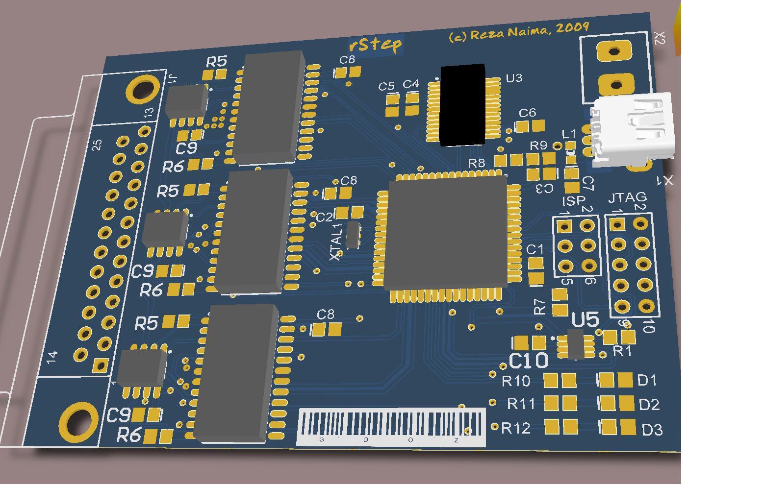 Stepper motor controller usb interface reza 39 s rants for Stepper motor control software
